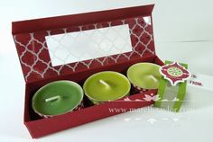 Marelle Taylor Stampin' Up! Demonstrator Sydney Australia: Candle Gifts