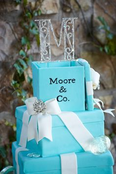 tiffany wedding | Tiffany Blue Wedding Cake A Day to Remember