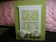 CCC12 February Madison Window Die Cards