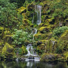 Jade Garden waterfall-Peter Lik