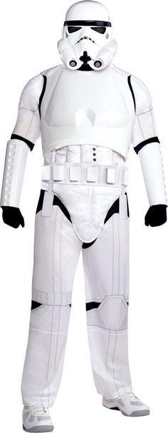 Adult Stormtrooper Costume Plus Size Deluxe - Star Wars - Party City   Erik, I found this for one of your friends.