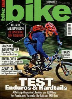 Test: Enduros & Hardtails. Gefunden in: bike, Nr. 11/2016