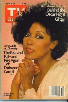 TV GUIDE 3/23/1985 DIAHANN CARROLL/DYNASTY/MR. ROGERS/THE OSCARS/ANNA KARENINA