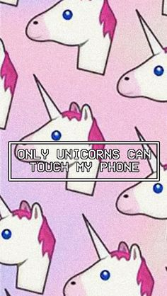 Unicorn lockscreen