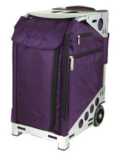 Zuca Pro Travel Royal Purple/Silver