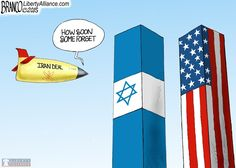 A bad deal with Iran could possibly result in something much worse than the 9-11 attack. Cartoon by A.F.Branco ©2015
