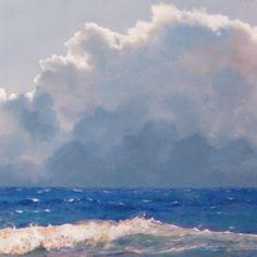 Sea Cloud, painting by artist Oriana Kacicek