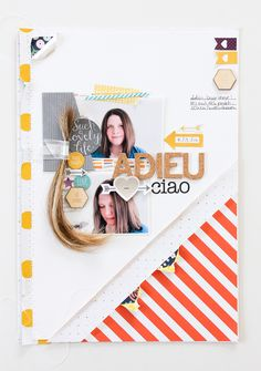 Janna Werner Scrapbooking Layout mit Project Life by Becky Higgins + Stampin' Up!