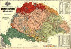 Bukovina and Austro-Hungarian Maps Heart Of Europe, Austro Hungarian, Historical Maps, Vintage Maps, Central Europe, Folk Music, Hungary, Image, Language