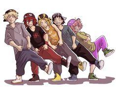 one-of-the-boys mina 💕 My Hero Academia // BNHA // Katsuki Bakugo // Kacchan // Eijiro Kirishima // Denki Kaminari // Hanta Sero // Mina Ashido.i love thiscomic Boku No Hero Academia Funny, My Hero Academia Shouto, My Hero Academia Episodes, Hero Academia Characters, Otaku Anime, Anime Guys, Manga Anime, Chibi, Bakugou And Uraraka