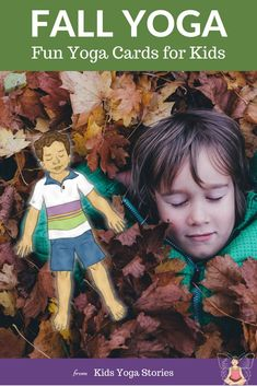 Enjoy the crisp Autumn air and the changing colors of Fall with these fun and simple yoga poses! Pretend to feel the raindrops from Fall showers, to pick pumpkins and to watch the bears prepare to sleep in their dens! Hatha Yoga Poses, Kids Yoga Poses, Easy Yoga Poses, Yoga Poses For Beginners, Yoga For Kids, Preschool Yoga, Kids Moves, Autumn Activities For Kids, Learn Yoga