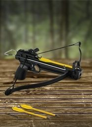 50lb. Draw Fiberglass Pistol Crossbow $15 - http://www.pinchingyourpennies.com/50lb-draw-fiberglass-pistol-crossbow-15/ #Crossbow, #Dailysteals, #Hunting, #Pinchingyourpennies
