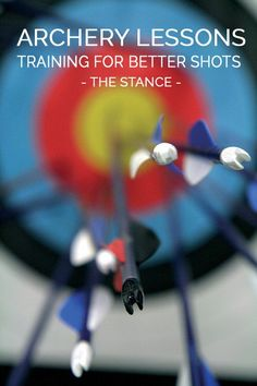 Archery Lessons: Training for Better Shots   Proper Archery Stance