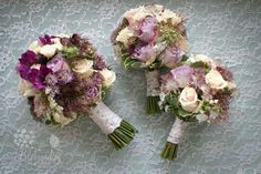 vintage lace bouquets in purple and lilac | Flickr - Photo Sharing!