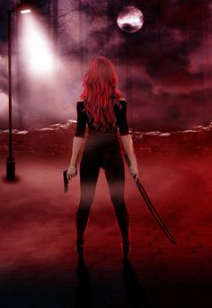 Blood Fighter by Kialeena.deviantart.com on @deviantART ----Available as a Book Cover.
