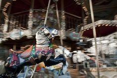 """""""Carrousel"""" Fotografía tomada en Montmartre, París. Francia. 2011"""