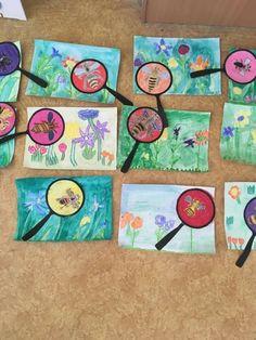 Classroom Art Projects, School Art Projects, Art Classroom, Spring Art Projects, Spring Crafts, Kindergarten Art, Preschool Crafts, First Grade Art, Theme Nature