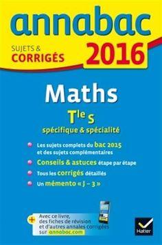 Annales Annabac 2016 Maths Tle S spécifique & spécialité:... https://www.amazon.fr/dp/221899125X/ref=cm_sw_r_pi_dp_PKzHxb4GKQM8F