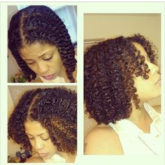 Gorgeous twist out