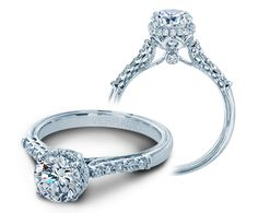 Classic-916RD7 engagement ring from  of diamond engagement rings by Verragio #skatellsofthelowcountry #love #engagement