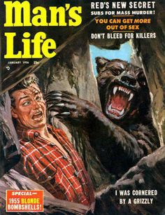 I was Cornered by A Grizzly (1956).