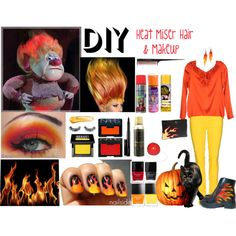 DIY Heat Miser by michellelynn007 on Polyvore featuring beauty, Make, NARS Cosmetics, NYX, Napoleon Perdis, MAC Cosmetics, Butter London, Annarita N., 7 For All Mankind and Harley-Davidson