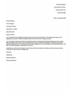 example of cover letter best - Examples Of A Cover Letter For A Resume