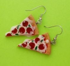 Pizza earrings #jewellery #accessories #earrings #pizza