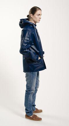 Sandhamn Jacket 309 by Grundéns Originals Rain Wear, Spring Summer 2015, Dark Blue, Rain Jacket, Windbreaker, Raincoat, The Originals, How To Wear, Jackets
