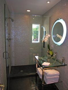 Looking for Eclectic Bathroom ideas? Browse Eclectic Bathroom images for decor, layout, furniture, and storage inspiration from HGTV. Eclectic Bathroom, Modern Bathroom, Bathroom Images, Vanity Bathroom, Small Bathroom, Bathroom Ideas, Home Design Decor, House Design, Interior Design