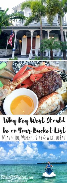 Bucket List Travel: Where to Stay, What to do and What to Eat in Key West Florida // via /thislilpiglet/