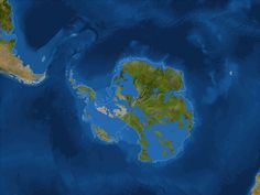 New coastlines If all the ice melted (sea level rises 216 feet). Antarctica #NationalGeographic