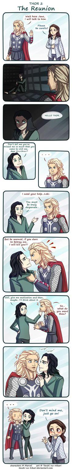 Thor 2 - The Reunion by Tenshi-no-Hikari.deviantart.com on @deviantART
