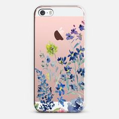 Casetify iPhone SE Classic Snap Case - Wildflowers by Pineapple Bay Studio