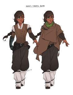 Sketch - Ava& Travel Garb by charlestanart on DeviantArt me gustan los cint. Character Design Inspiration, Fantasy Characters, Sketches, Character Design, Character Art, Character Inspiration, Character Portraits, Art, Character Design References
