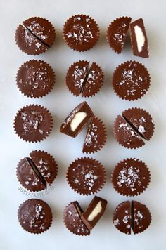 No-Bake Chocolate Cheesecake Cups recipe on justataste.com