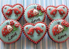 Valentine Cookies by mint_lemonade, via Flickr