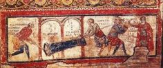 Iscrizione di San Clemente (sotterranei di San Clemente a Roma - http://www.sotterraneidiroma.it/notizie-sdr/item/iscrizione-di-san-clemente-e-sisinnio-nei-sotterranei-di-san-clemente-a-roma)