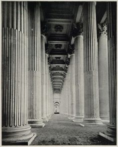 The Colonnade inside the Peristyle, 1893, Columbian Exposition, Chicago.