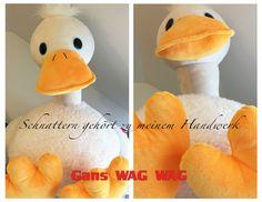 Gans WAG WAG - NEU im Sortiment und in echt noch viel kuscheliger als es die Fotos hergeben :-)