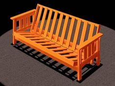 How too build a futon frame~Click to download...