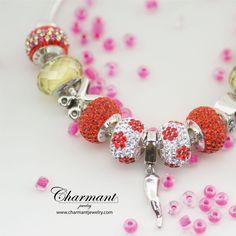 """""""Ricorda che non ottenere ciò che vuoi è a volte un meraviglioso colpo di fortuna.""""  Le silver Beads dell'estate sceglile sul sito www.charmantjewelry.com.  #charmant #beads #braccialecomponibile"""