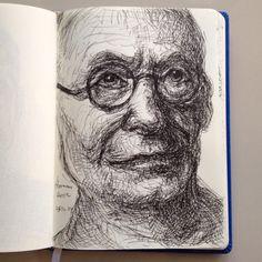 Drawing...., Hermann Hesse