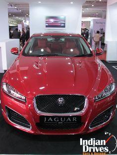 jaguar Cars at supercar show