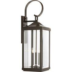 Kinlaw 3-Light Outdoor Wall Lantern