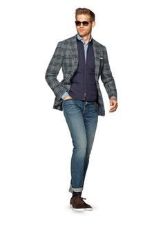 Jacket Grey Check Havana C1010i | Suitsupply Online Store