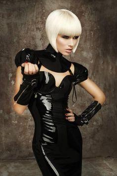 NOIR Black Beauty :: Black Latex