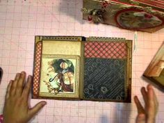 Build-A-Page Album meets The Hidden Hinge Binding System!  This is a great website, and her tutorials are fabulous.