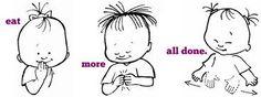 Image result for sign language words