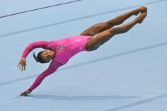 Artistic Gymnastics World Championships on Oct. 2013 in Antwerp, Belgium. Gymnastics World, Gymnastics Posters, Gymnastics Pictures, Sport Gymnastics, Artistic Gymnastics, Olympic Gymnastics, Gymnastics Leotards, Olympic Games, Gymnastics History